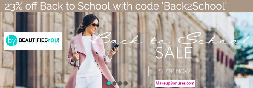 BeautifiedYou Sale - MakeupBonuses.com