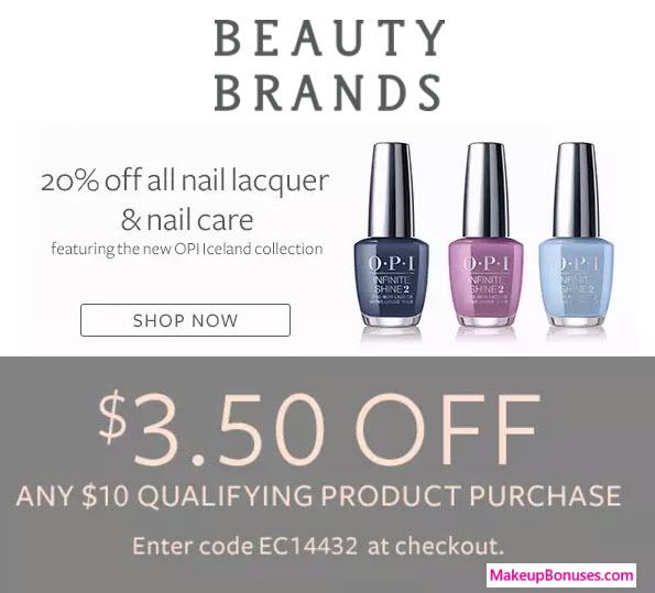 Beauty Brands Sale - MakeupBonuses.com
