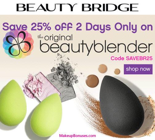 Beauty Bridge Sale - MakeupBonuses.com