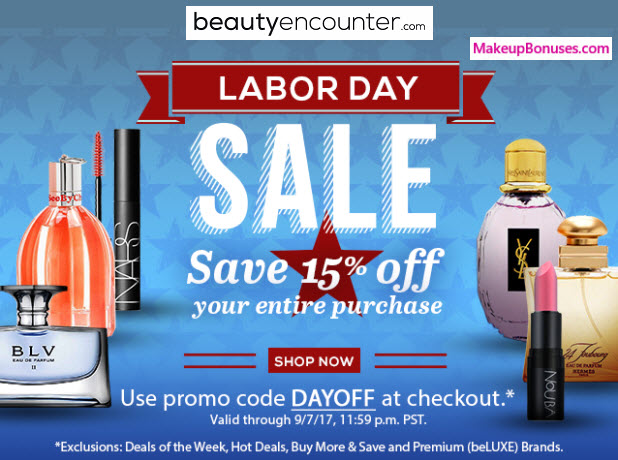Beauty Encounter Sale - MakeupBonuses.com