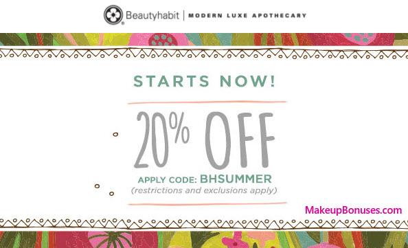 Beautyhabit Sale - MakeupBonuses.com