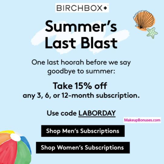Birchbox Sale - MakeupBonuses.com