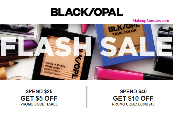 Black Opal Beauty Sale - MakeupBonuses.com