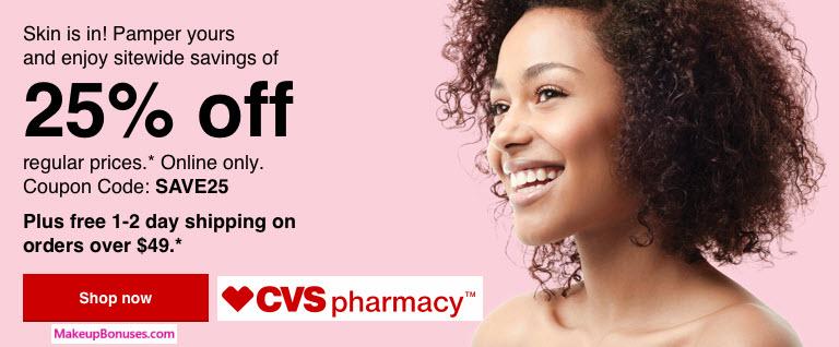 CVS pharmacy Sale - MakeupBonuses.com
