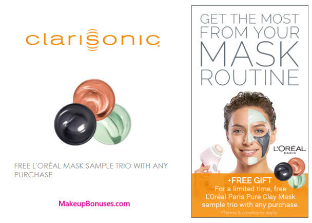Receive a free 3-pc gift with your any Clarisonic.com purchase