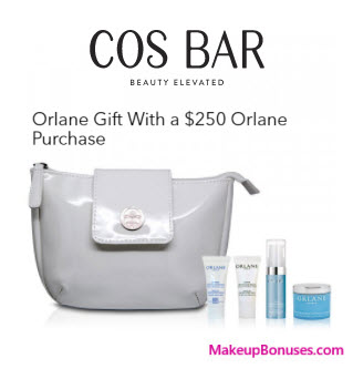 Receive a free 5-pc gift with your $250 Orlane purchase