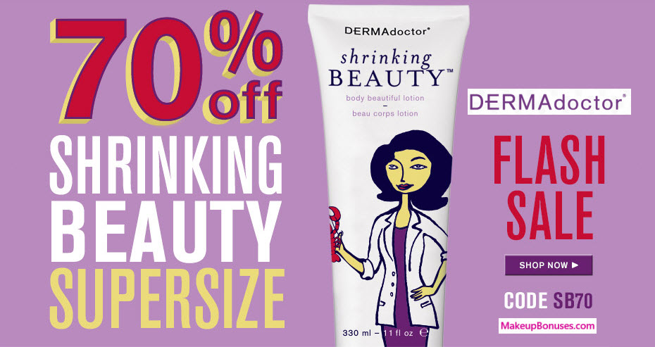 DERMAdoctor Sale - MakeupBonuses.com