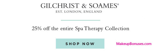 Gilchrist & Soames stands as one of the most renowned and respected spa, bath and body brands in the world. For over thirty years, Gilchrist & Soames' fine products have been found in the most prestigious hotels, spas, and resorts throughout the world, and were only available for personal use to very exclusive clientele.