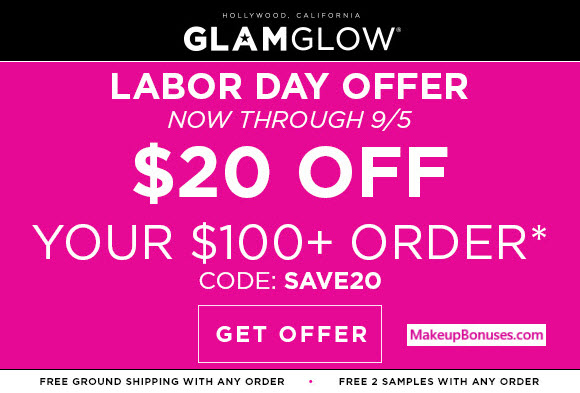 GlamGlow Sale - MakeupBonuses.com
