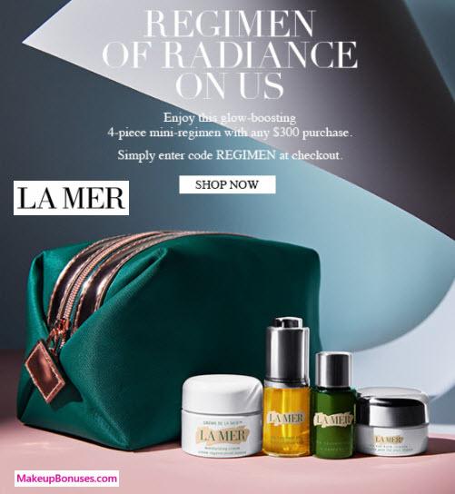 La Mer 5pc Free Bonus Gift with Purchase - MakeupBonuses.com