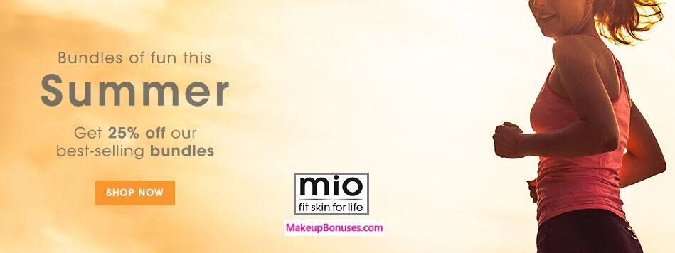 Mio Skincare Sale - MakeupBonuses.com