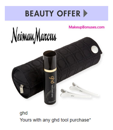 Receive a free 4-pc gift with your ghd tool purchase