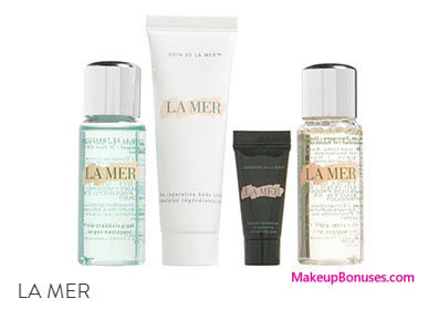 Receive A Free 4 Pc Gift With Your 250 La Mer Purchase