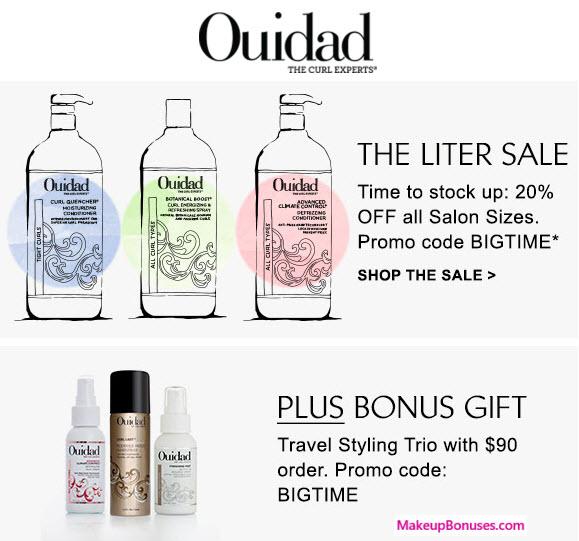 Ouidad Sale - MakeupBonuses.com