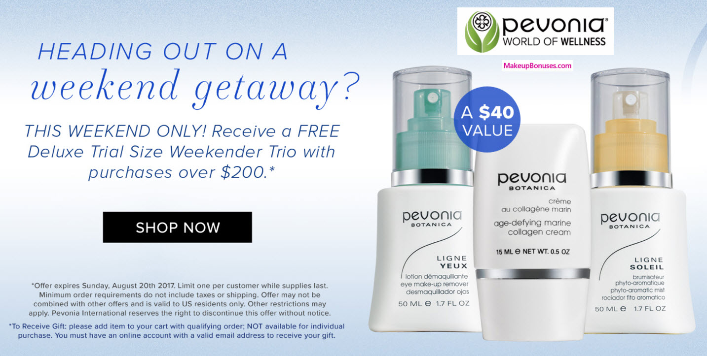 Pevonia eye makeup remover