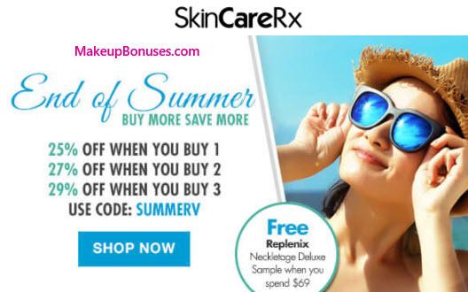 SkinCareRx Sale - MakeupBonuses.com