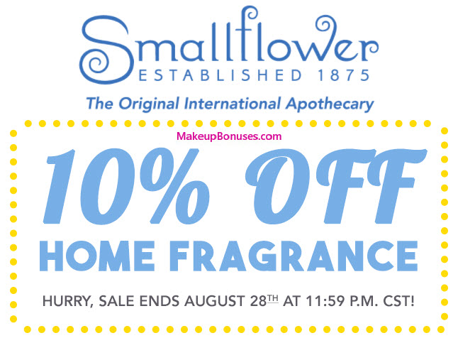 Smallflower Sale - MakeupBonuses.com
