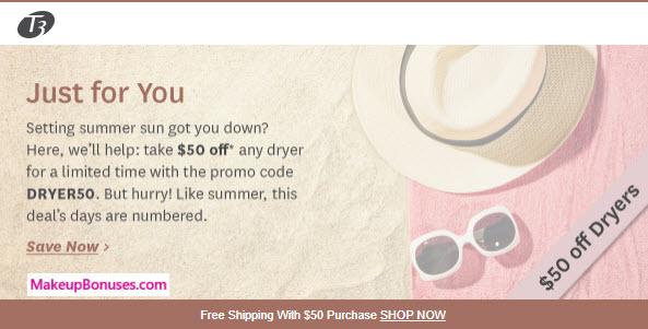 T3 Sale - MakeupBonuses.com