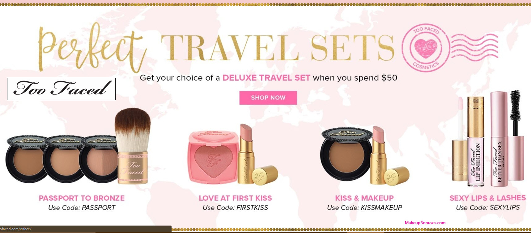 Sephora is offering $$25 off with $75 purchase when you use promo code at online checkout. Note: Offer valid for one-time use only. Exclusions apply.