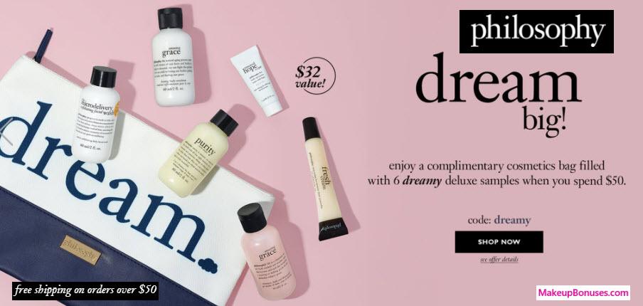 philosophy 7-piece Free Gift w/ Purchase - MakeupBonuses.com