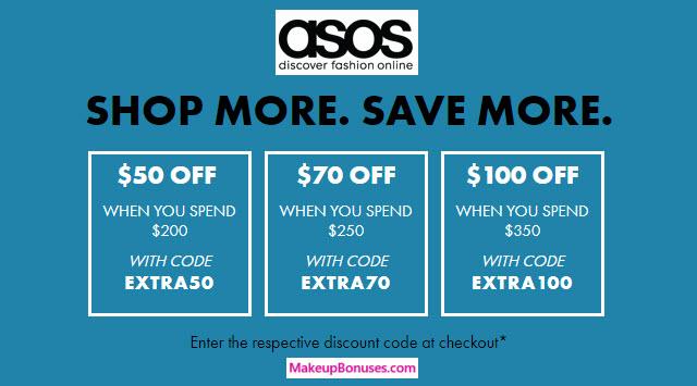 ASOS Sale - MakeupBonuses.com