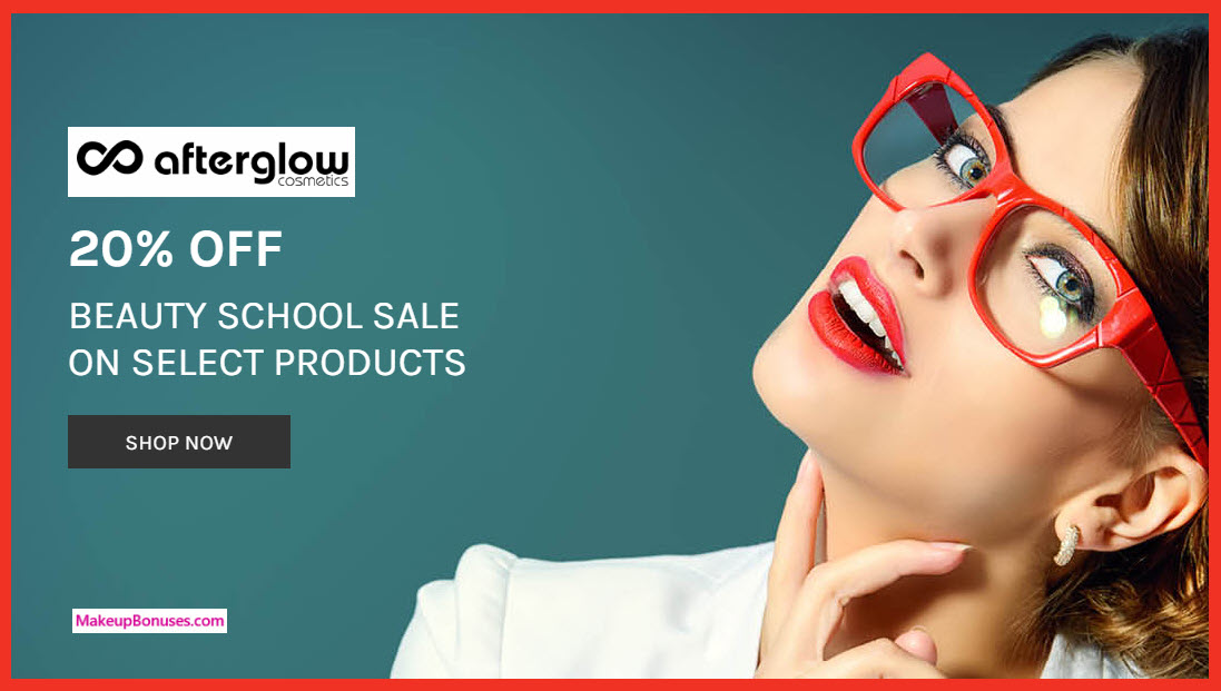 Afterglow Sale - MakeupBonuses.com