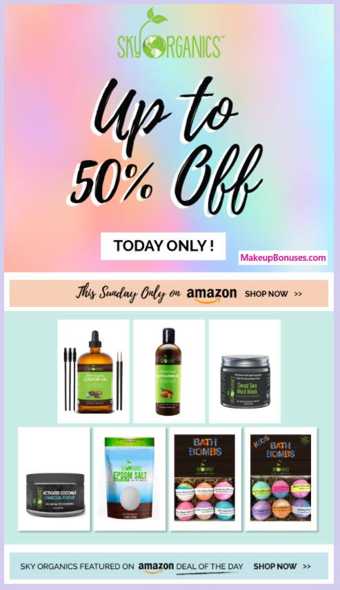 Amazon.com Sale - MakeupBonuses.com