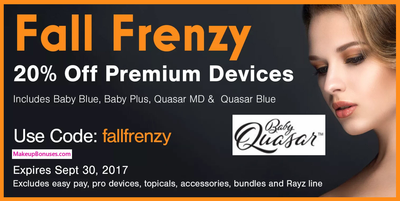 Baby Quasar Sale - MakeupBonuses.com
