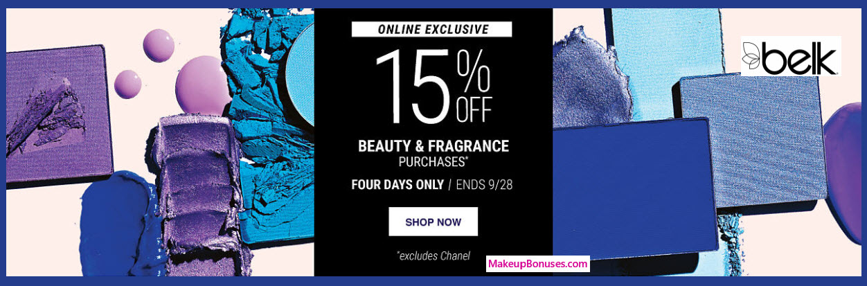 Belk Sale - MakeupBonuses.com