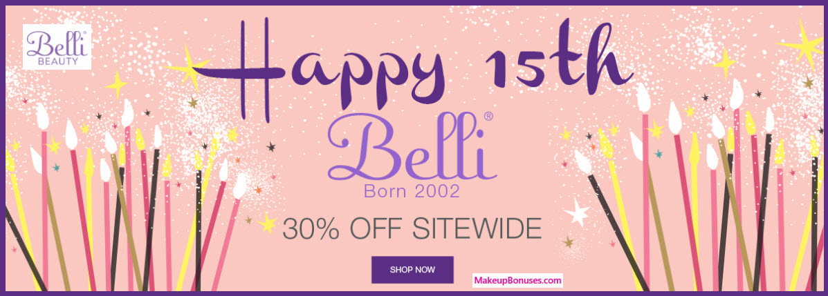 Belli Beauty Sale - MakeupBonuses.com