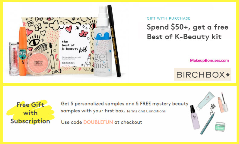 Receive a free 5-pc gift with your $50 Multi-Brand purchase