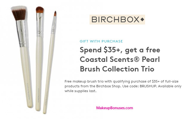 Receive a free 3-pc gift with your $35 of Full-Size products purchase