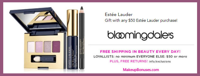 Receive a free 3-pc gift with your $50 Estée Lauder purchase