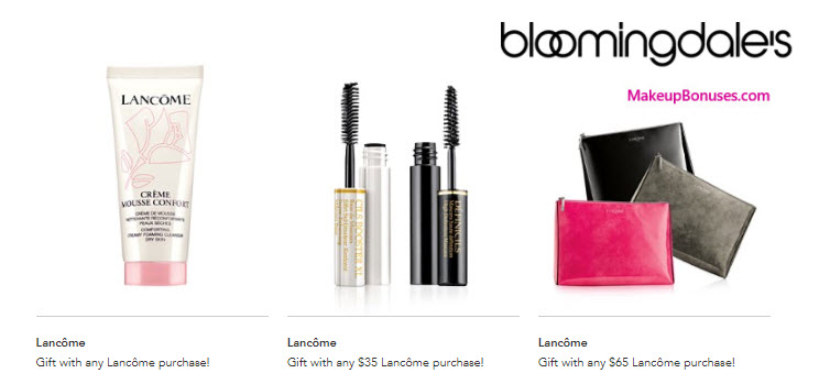 Receive a free 3-pc gift with your $35 Lancôme purchase