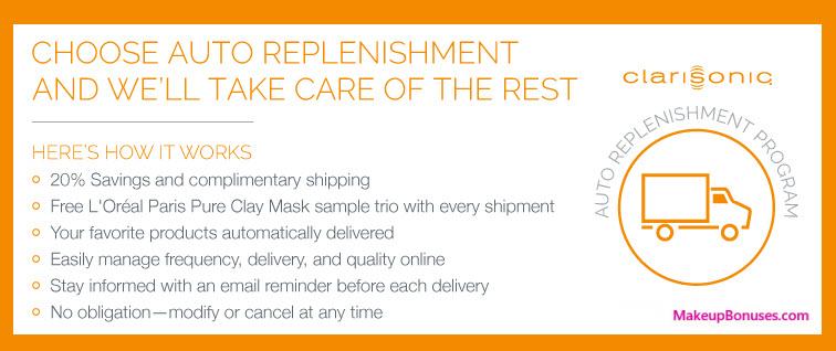 Clarisonic Auto Delivery Service - MakeupBonuses.com