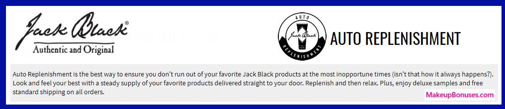 Jack Black Auto Delivery Service - MakeupBonuses.com