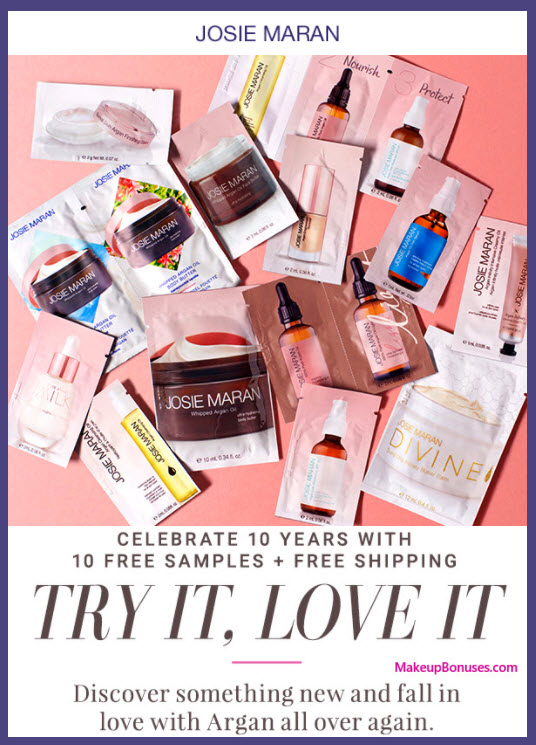 Receive a free 10-pc gift with your purchase