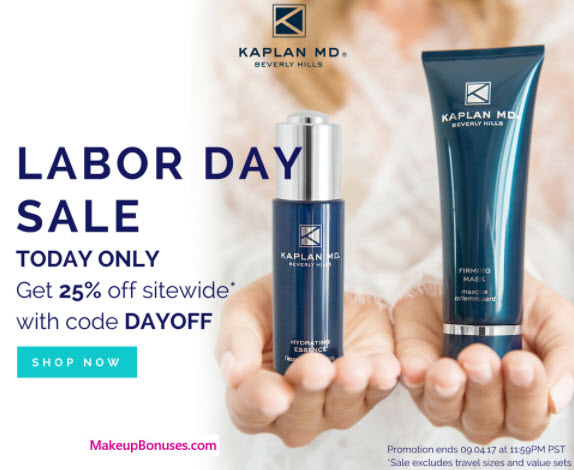 Kaplan MD Sale - MakeupBonuses.com