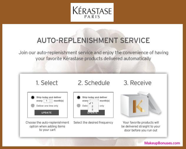 Kérastase Auto Delivery Service - MakeupBonuses.com