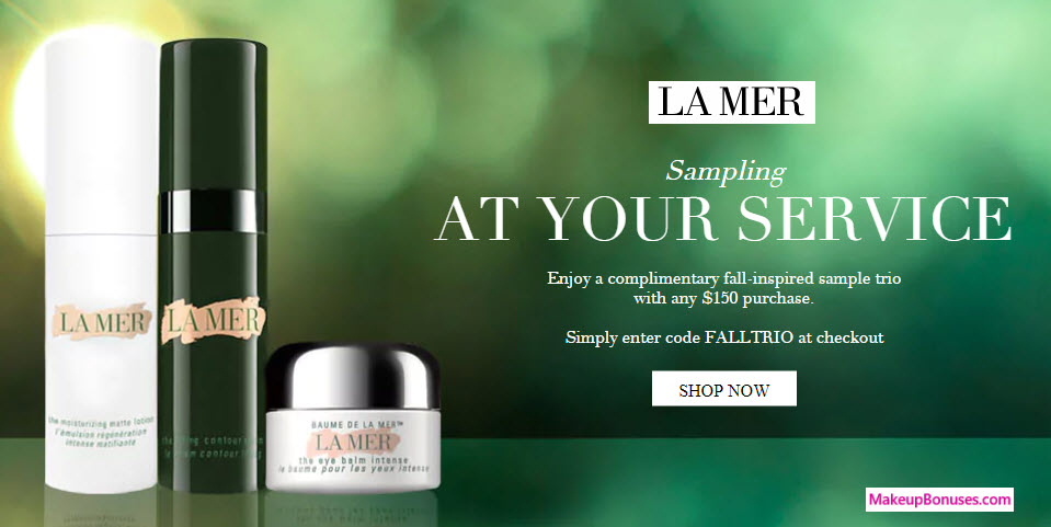 There are 3 La Mer Collections coupon codes for you to consider including 1 coupon code, and 2 sales. Most popular now: Shop the Sale Section for Big Savings. Latest offer: Sign Up for La Mer Collections Emails and Receive Exclusive Offers and Product Updates.