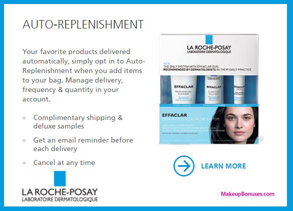 La Roche-Posay Auto Delivery Service - MakeupBonuses.com