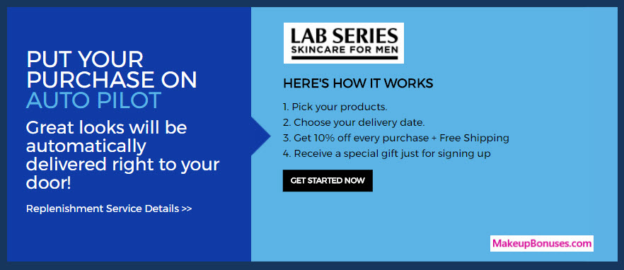 LAB SERIES Skincare for Men Auto Delivery Service - MakeupBonuses.com