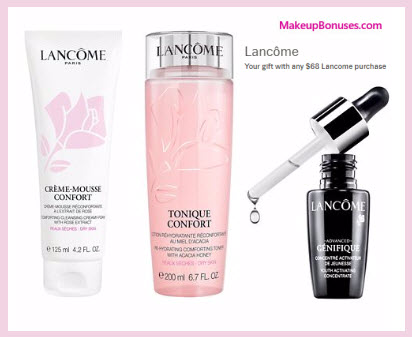 Lord & Taylor Free Bonus Gifts with