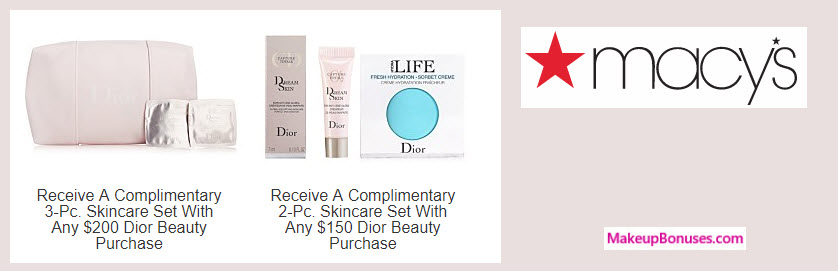 Receive a free 5-pc gift with your $200 Dior Beauty purchase