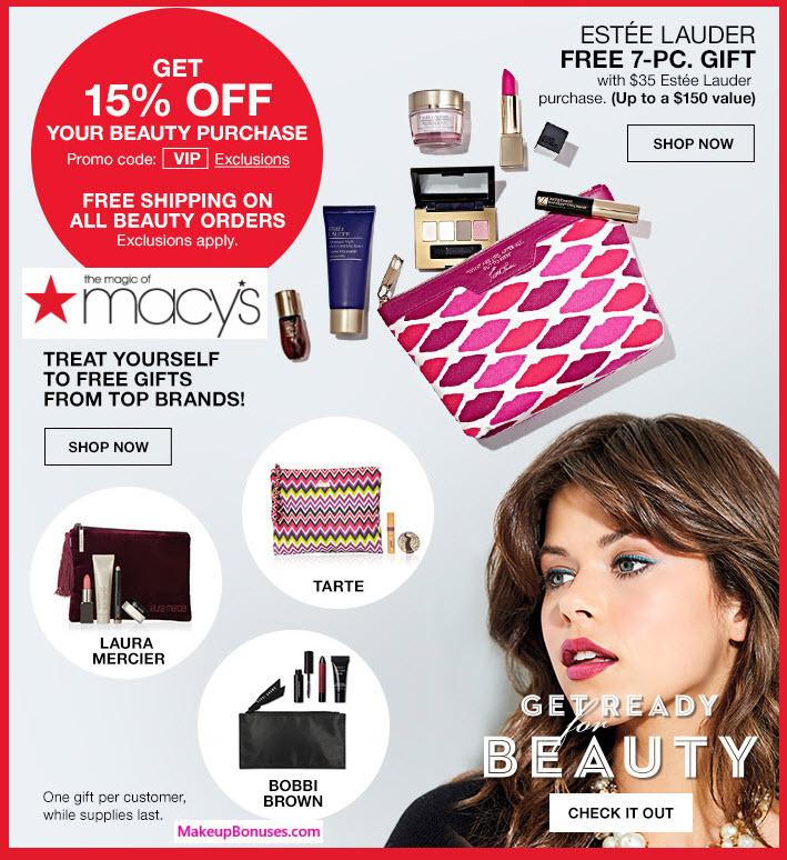 Macy's Sale - MakeupBonuses.com