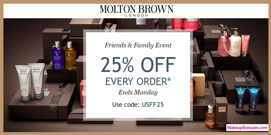 Molton Brown Sale - MakeupBonuses.com