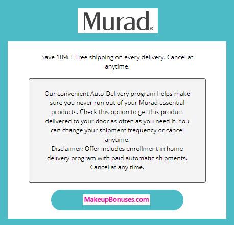 Murad Auto Delivery Service - MakeupBonuses.com