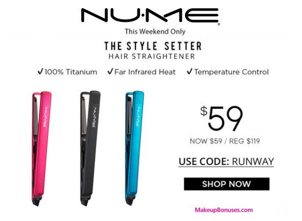 NUME Sale - MakeupBonuses.com