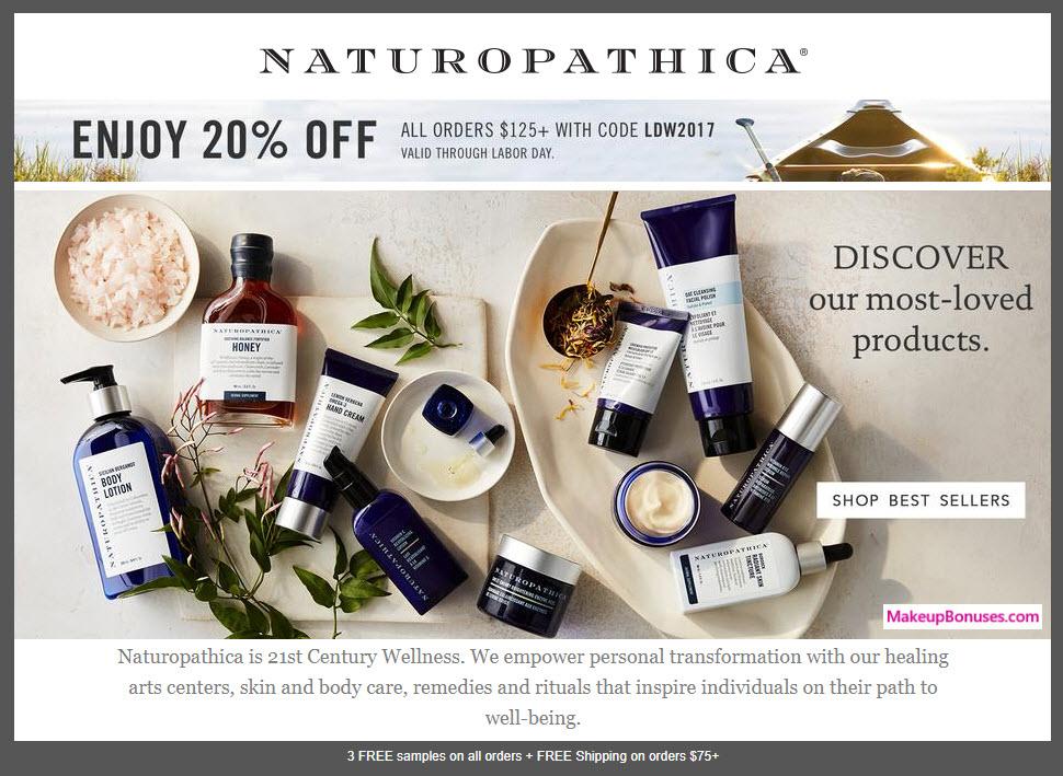 Naturopathica Sale - MakeupBonuses.com