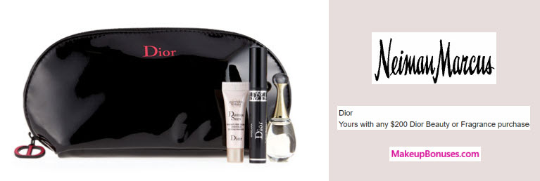 Receive a free 4-pc gift with your $200 Dior Beauty purchase
